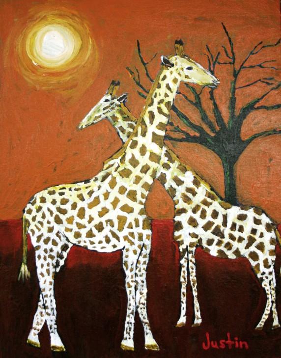 Safari-Sunset-by-Justin-Warren-16x20-572x729